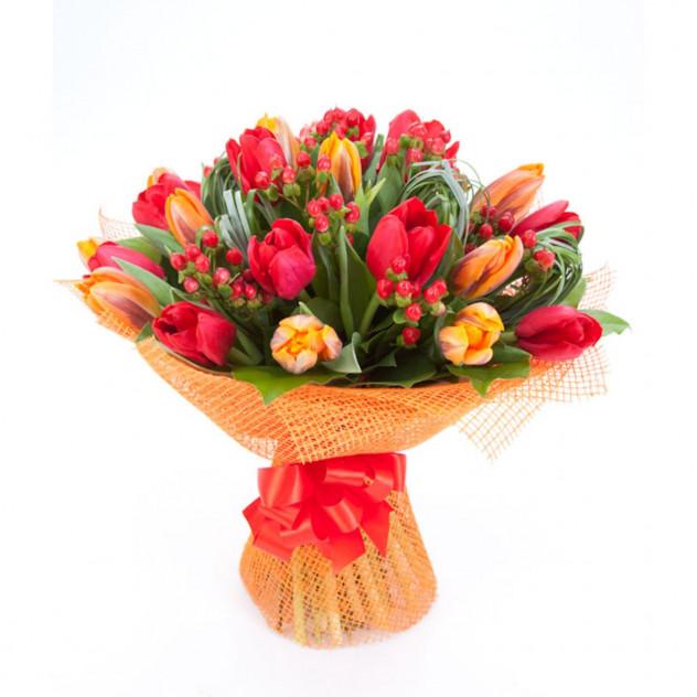 Букет из тюльпанов № 3